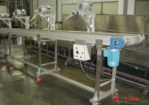 Compounding conveyor machine