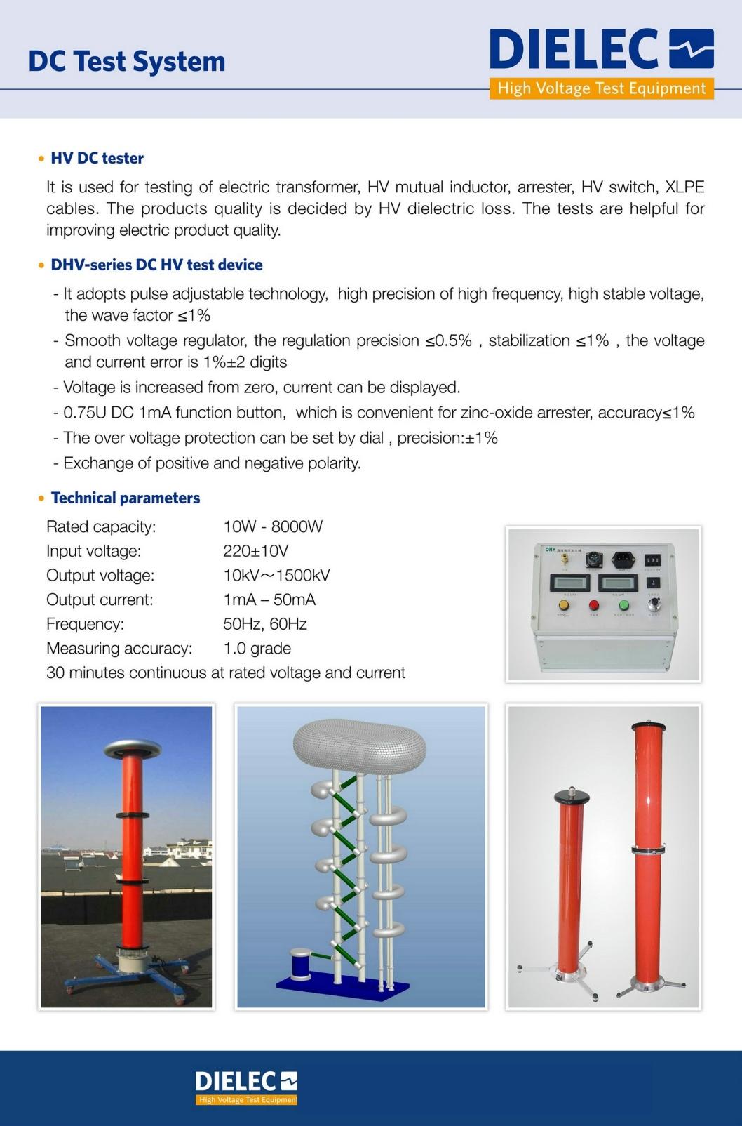 Dielec - Brochure - DC Test System