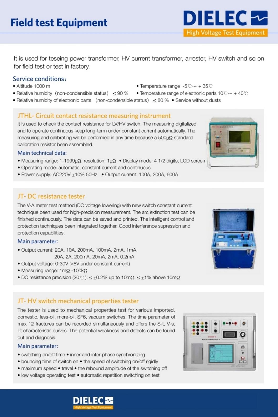 Dielec - Brochure - FTM 01