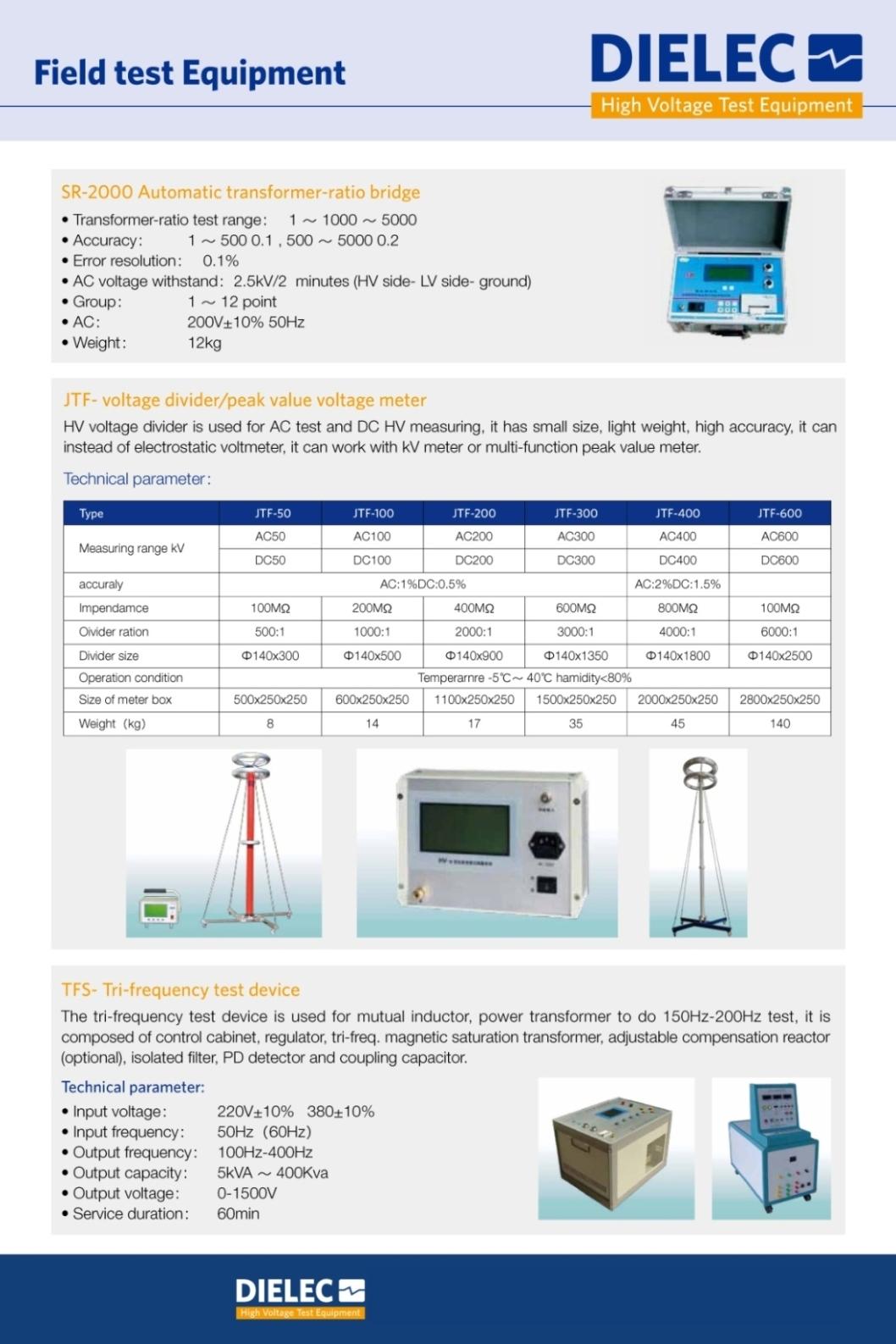 Dielec - Brochure - FTM 02