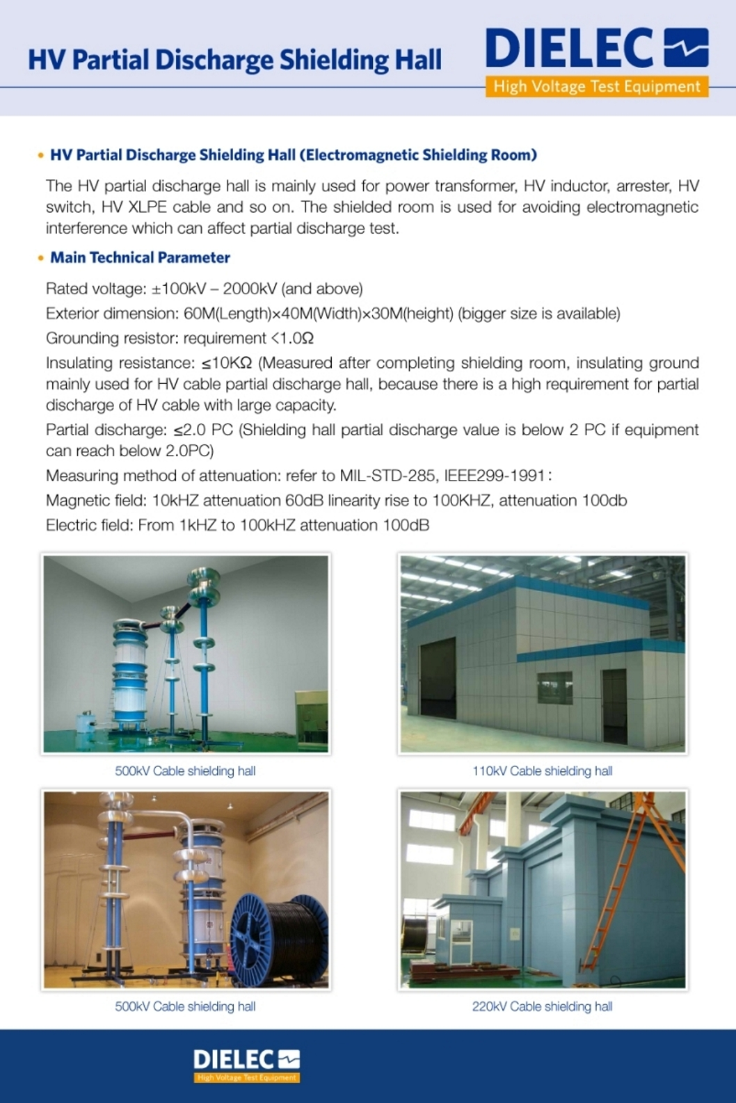 Dielec - Brochure - Shielded Enclosure